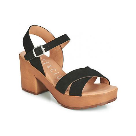 Musse Cloud TRACY women's Sandals in Black Musse & Cloud