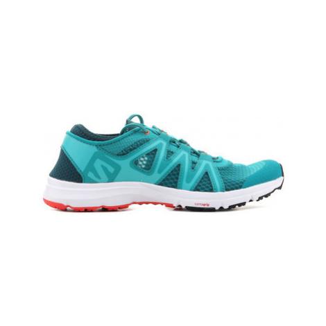 Salomon Crossamphibian W 394707 women's Shoes (Trainers) in Green
