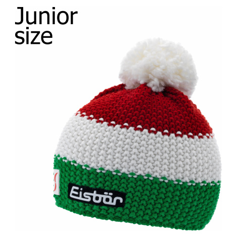 cap Eisbär Star Pompon MÜ SP - ITA/Electric/White/Ardea - unisex junior