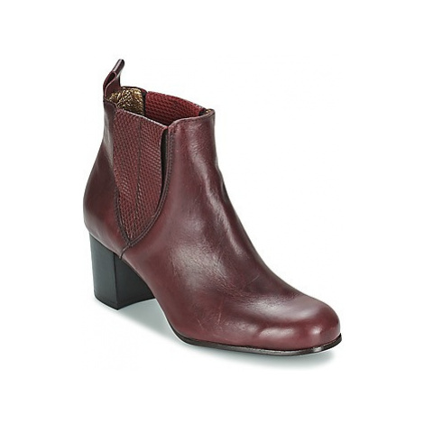 Stephane Gontard PALATI women's Low Ankle Boots in Red Stéphane Gontard
