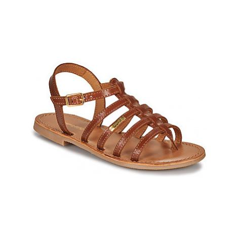 Les Tropéziennes par M Belarbi HIRSON girls's Children's Sandals in Brown