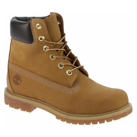 shoes Timberland Icon 6 Premium Waterproof Boot - 10361/Wheat Nubuck