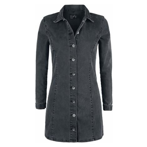Forplay - Denim Dress - Dress - grey
