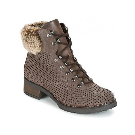Elue par nous BELGARDE women's Mid Boots in Brown