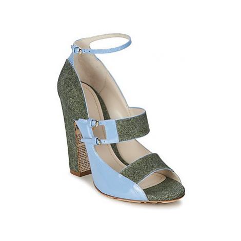 John Galliano A54250 women's Sandals in Blue