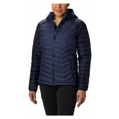 Columbia POWDER LITE HOODED JACKET dark blue - Women's jacket