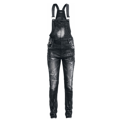 Rock Rebel by EMP - Diamonds To Dungarees - Girls jeans - black