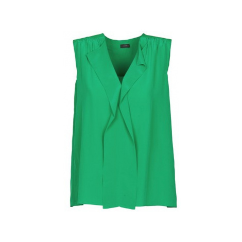 Joseph DANTE women's Vest top in Green