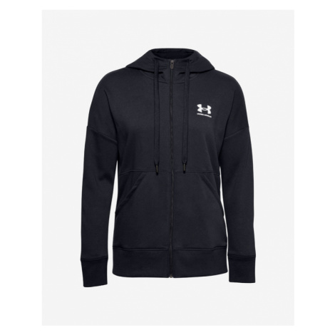 Under Armour Rival Fleece Full Zip Sweatshirt Black