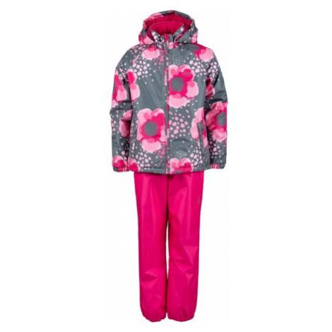 Lewro PAZ red - Kids' set of pants + jacket
