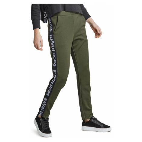 BORG TRACK PANTS Forest Night