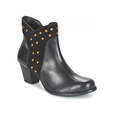 Hush puppies KRIS KORINA women's Low Ankle Boots in Black