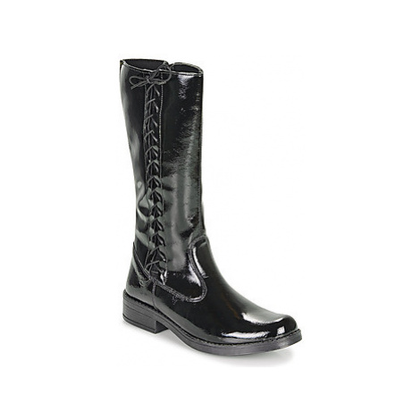 Citrouille et Compagnie LAMINOTE girls's Children's High Boots in Black