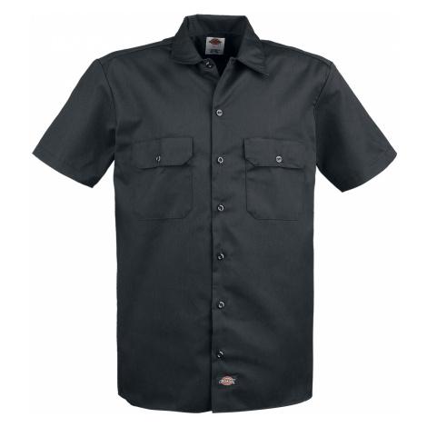 Dickies - Short Sleeve Work Shirt - Workershirt - black