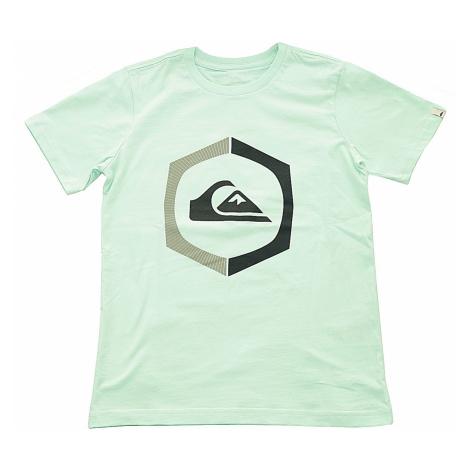 T-Shirt Quiksilver Sure Thing - GCZ0/Beach Glass - boy´s