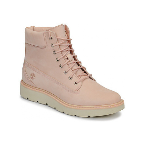 Timberland KENNISTON 6IN LACE UP BOOT women's Mid Boots in Pink