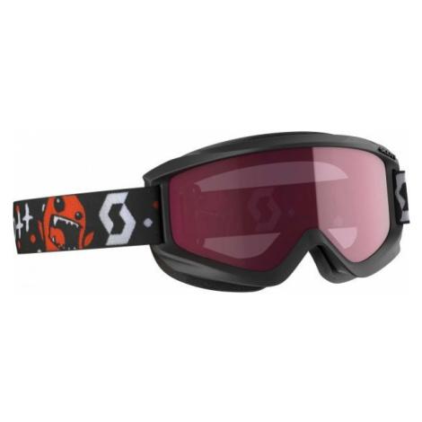 Scott AGENT JR AMPLIFIER black - Kids' ski goggles