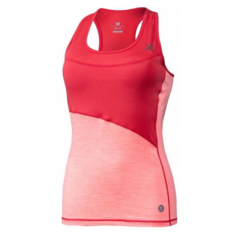 Klimatex MIRARI red - Women's sports top with a built-in bra