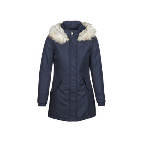 Only ONLKATY women's Parka in Blue