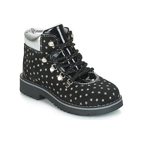 Citrouille et Compagnie JORDA girls's Children's Mid Boots in Black