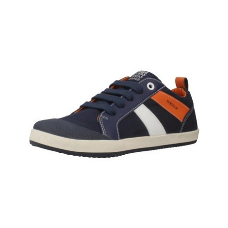 Geox J KIWI boys's Children's Shoes (Trainers) in Blue