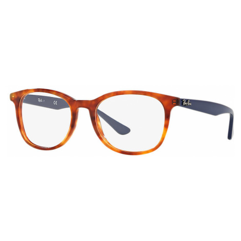 Ray-Ban Rb5356 Man Optical Lenses: Multicolor, Frame: Blue - RB5356 5609 52-19