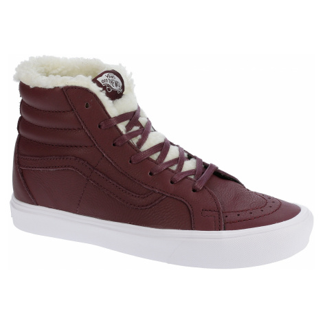 shoes Vans Sk8-Hi Reissue Li - Sherpa/Burgundy/True White