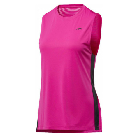 Reebok WOR MESH TANK pink - Women's sports tank top