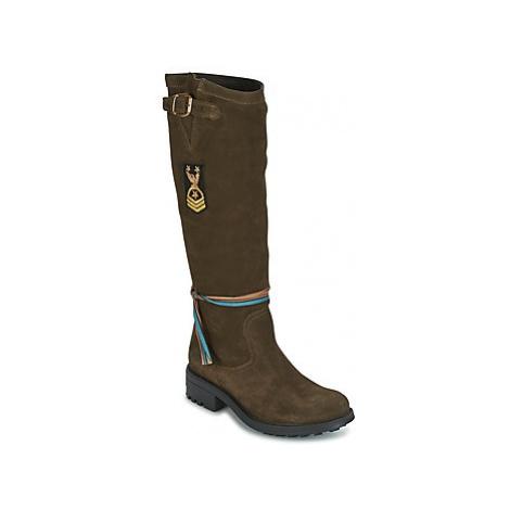 Felmini GREDO women's High Boots in Green