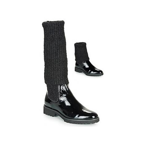 Regard REJAST V1 VERNIS women's High Boots in Black