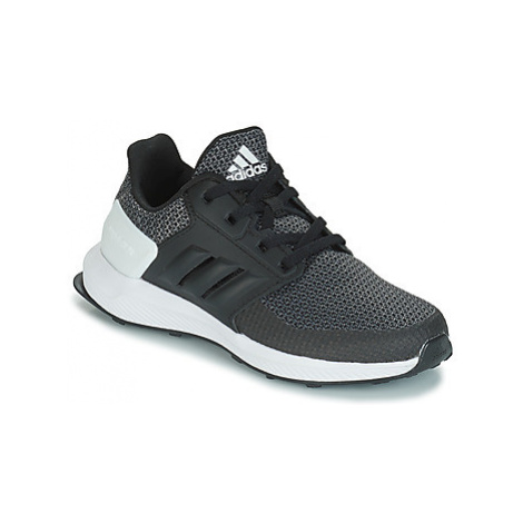 Adidas RAPIDARUN K girls's Children's Sports Trainers in Black