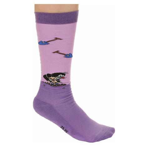 socks Boma Krtek Long - Purple/Violet