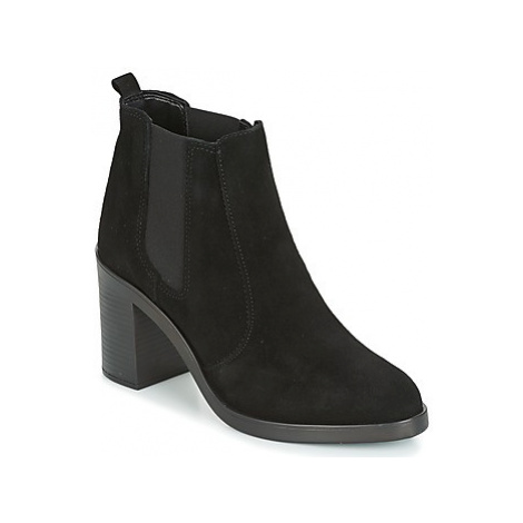 KG by Kurt Geiger SICILY-BLACK women's Low Ankle Boots in Black KG Kurt Geiger