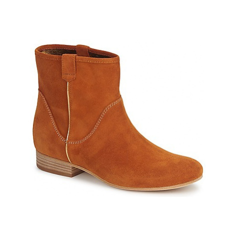 Vic MUI women's Mid Boots in Brown