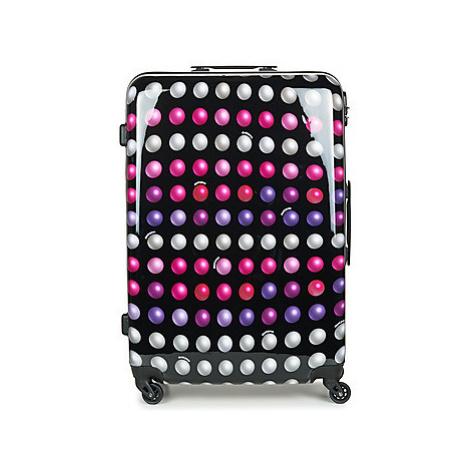 David Jones FREDEGAR 88L men's Hard Suitcase in Multicolour