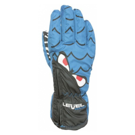 Level LUCKY blue - Water resistant insulated gloves
