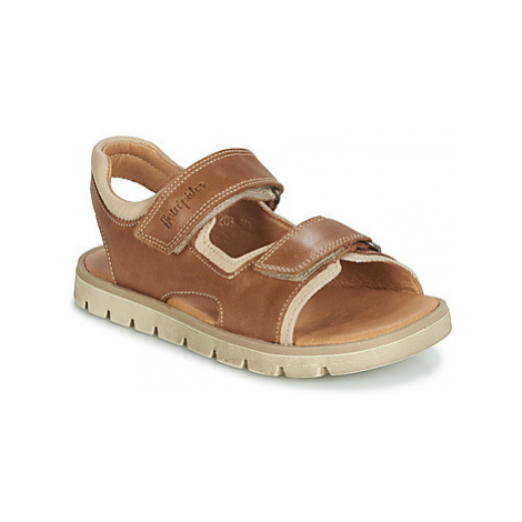 Babybotte KRUMBLE boys's Children's Sandals in Brown