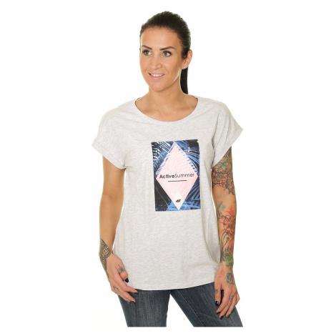 T-Shirt 4F H4L19-TSD010 - 10M/White Melange - women´s