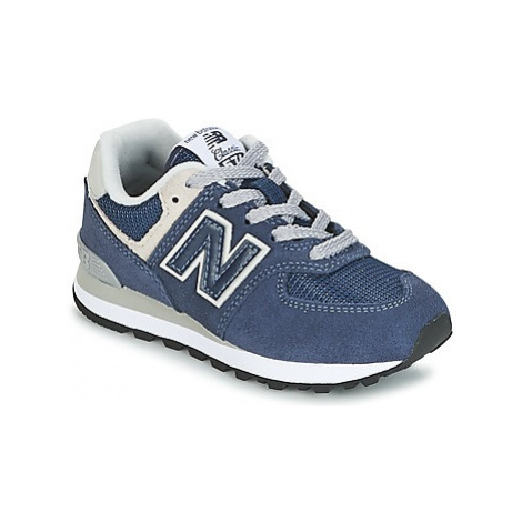 New Balance 574 girls's Children's Shoes (Trainers) in Blue