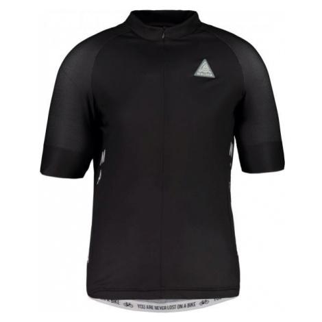 Maloja PLANSM. 1/2 black - Short sleeve jersey
