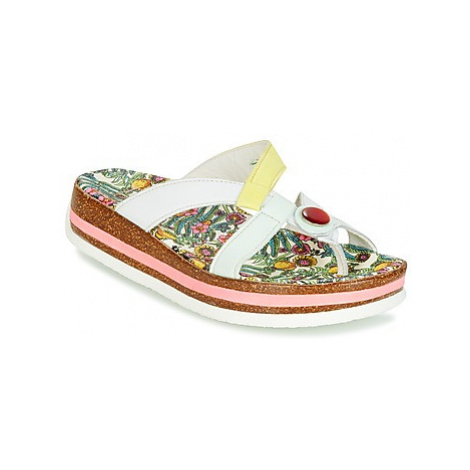 Think TAMOLO women's Flip flops / Sandals (Shoes) in White