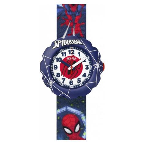 Flik Flak Spider-Man In Action Watch