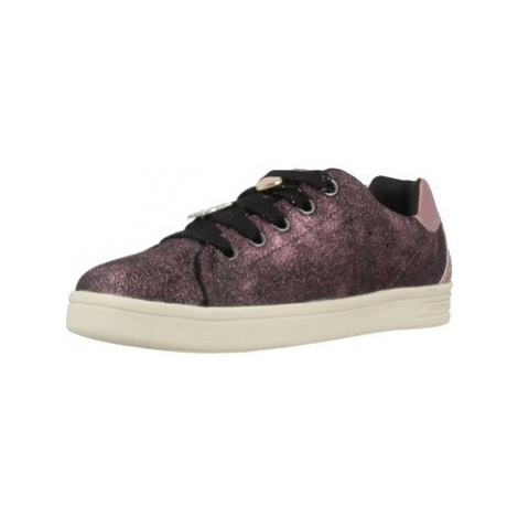 Geox J DJROCK G.A girls's Children's Shoes (Trainers) in Purple