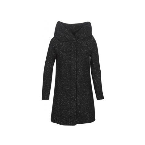 Vila VICANIA women's Coat in Black
