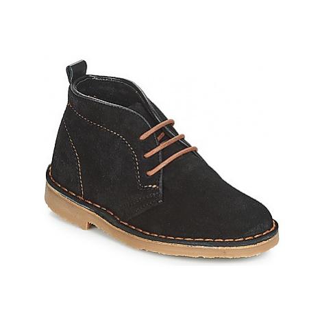 Citrouille et Compagnie JITOU boys's Children's Mid Boots in Black