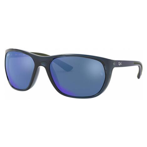 Ray-Ban Rb4307 Man Sunglasses Lenses: Blue, Frame: Blue - RB4307 643855 61-18