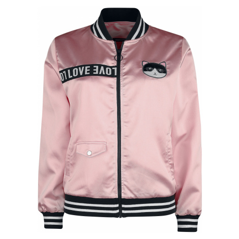 Jawbreaker - Love Cats Members Only Jacket - Jacket - pink