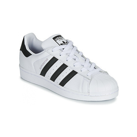 Adidas SUPERSTAR W women's Shoes (Trainers) in White