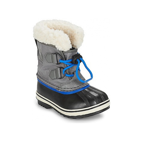 Sorel CHILDRENS YOOT PAC NYLON girls's Children's Snow boots in Grey