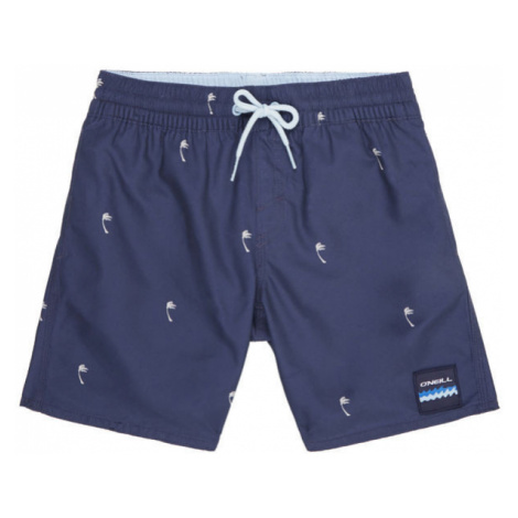 O'Neill PB MINI PALMS SHORTS dark blue - Boys' swim trunks